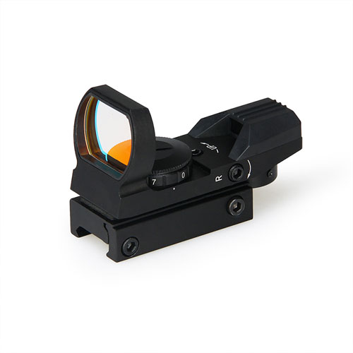 PPT Tactical Black  1X Red 4 Reticles Mini Red Dot Scope For 22MM Rail Outdoor Hunting HS2-0091A