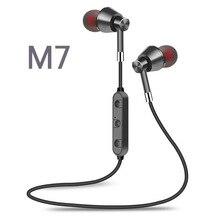 2019 sport Bluetooth casque cou Lavalier Type nouveau en cours d'exécution métal magnétique grosse carte Plug-in stéréo Headphones123