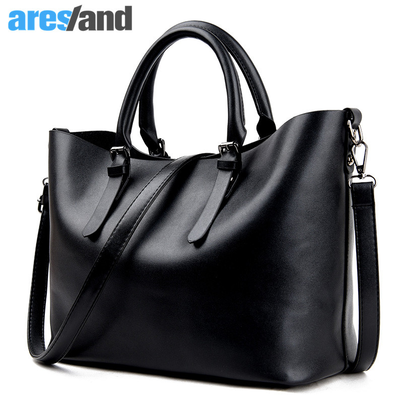 Aresland Fashion Women Bag Hobos Bag Ladies Brand Leather Handbags Casual Tote Messenger Shoulder Bags For Woman Bolsas