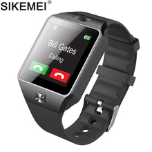 SIKEMEI Smart Watch Phone Bluetooth Smartwatch DZ09 Wrist Watch Camera Pedometer SIM TF Card PK A1 GT08 Q18 for Android iOS стоимость