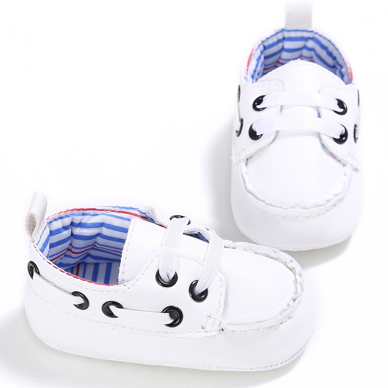 2017 Cute Newborn Baby Boy Prewalker Shoes First Walkers