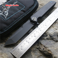 MAIGC 2018 Gentleman Folding knife M390 Blade Titanium handle Camping Hunting Survival pocket knife Outdoors EDC Tools