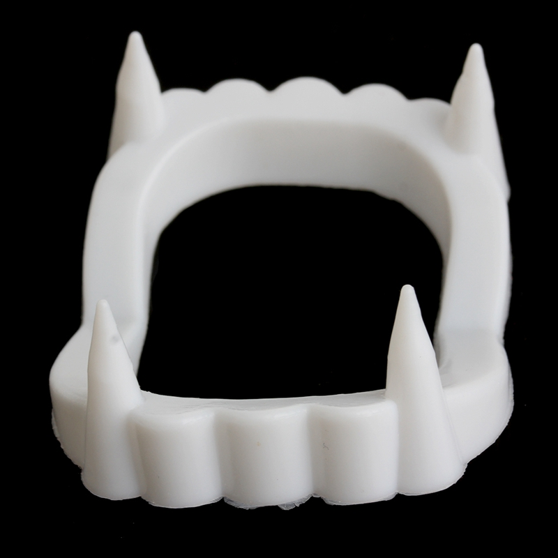 2018 Vampire Dracula Teeth Halloween Monster Werewolf Zombie Fangs Halloween Party Baby Kids Child Gifts
