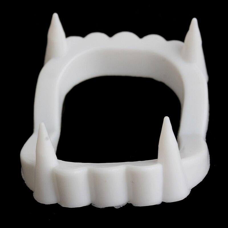 2018 Vampire Dracula Teeth Halloween Monster Werewolf Zombie Fangs Halloween Party Baby Kids Child Gifts