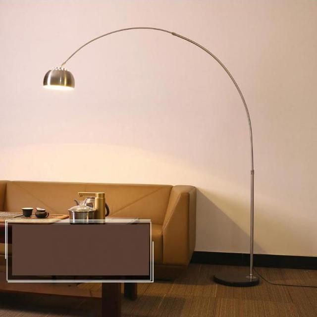 Modern tall standing lamp long fishing lamp floor lamp for living room floor light reading office