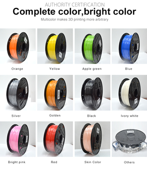 3D printing filament 1.75mm PLA Multi-colors 1kg plastic spools filament for 3d printer impressora 3D filamento 1