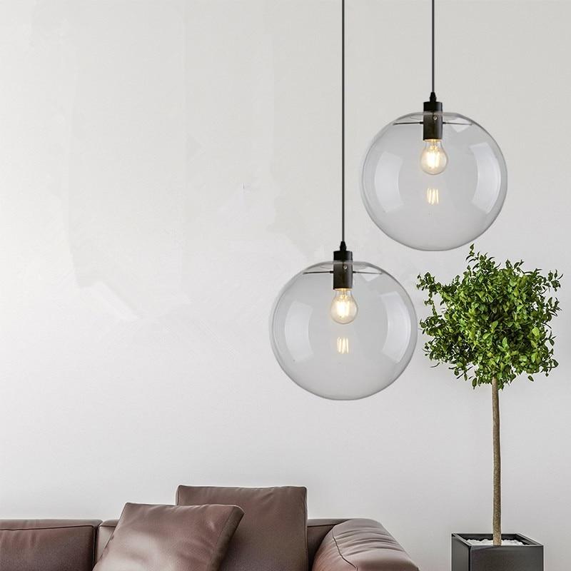 Kitchen Pendant Light Bedroom Lamp Bar Ceiling Light: Kitchen Modern Pendant Lighting Bar Glass Pendant Light