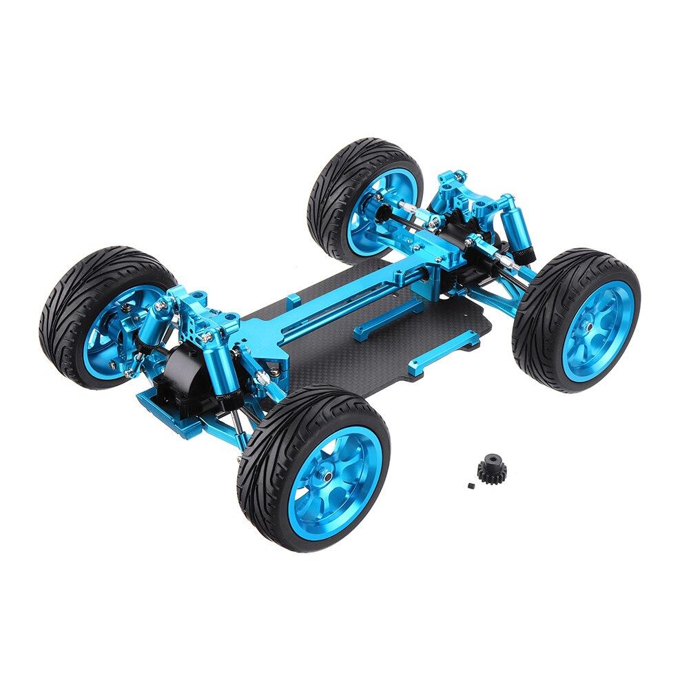 Wltoys 1/18 4WD A959 A969 A979 tous les châssis de voiture RC en métal pièces de modèles de véhicule RC