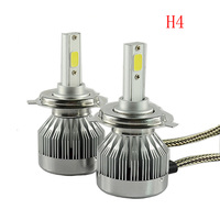 Super Bright Headlight H4 H13 HB1 9004 HB5 9007 Universal Automobile Headlamp 12V 6000K 60W 6000LM