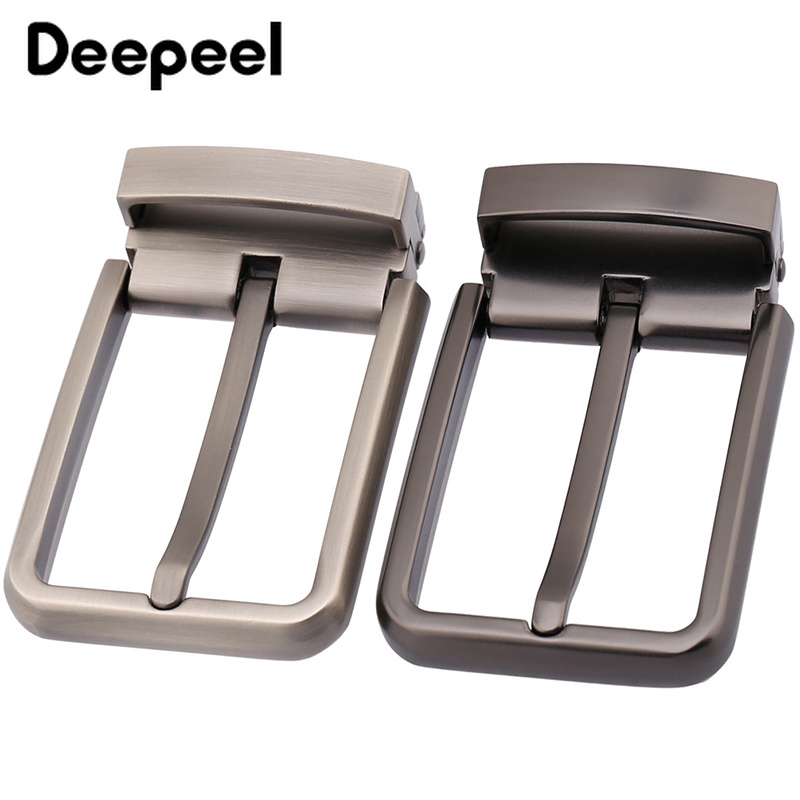 Deepeel Fashion Men Belt Buckles Metal Pin Buckle For Belt 33-34mm Belt Head Boucle Ceinture DIY Leather Craft KY933