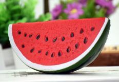 Kawaii 14cm/16cm Jumbo Squishy Watermelon Super Slow Rising Squeeze Soft Stretch Scented food Bread Cake Fruit Fun Kids Toy GiftNovelty & Gag Toys