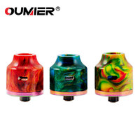 Original OUMIER WASP NANO RDA 22mm Diameter RDA Tank Big Deck Easy Building Bottom Filling Vape