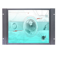 New Capacitive Touch Screen Monitor 19 Inch Industrial PCAP Capacitive Touch Screen Monitor With AV BNC