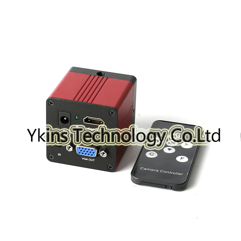 HD 1080P 1/2.7 60F / S HDMI VGA Digital Industry Video Microscope Camera + Remote Controller for BGA PCB CPU Computer Repair