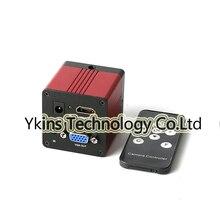 HD 1080 P 1/2. 7 «60F/S HDMI VGA цифровой промышленный видео микроскоп камера + пульт дистанционного управления для BGA PCB cpu ремонт компьютера