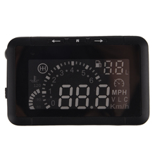 AUTO Car HUD montados en Vehículos Head Up Display System OBD Consumo de Combustible Sobrevelocidad Advertencia