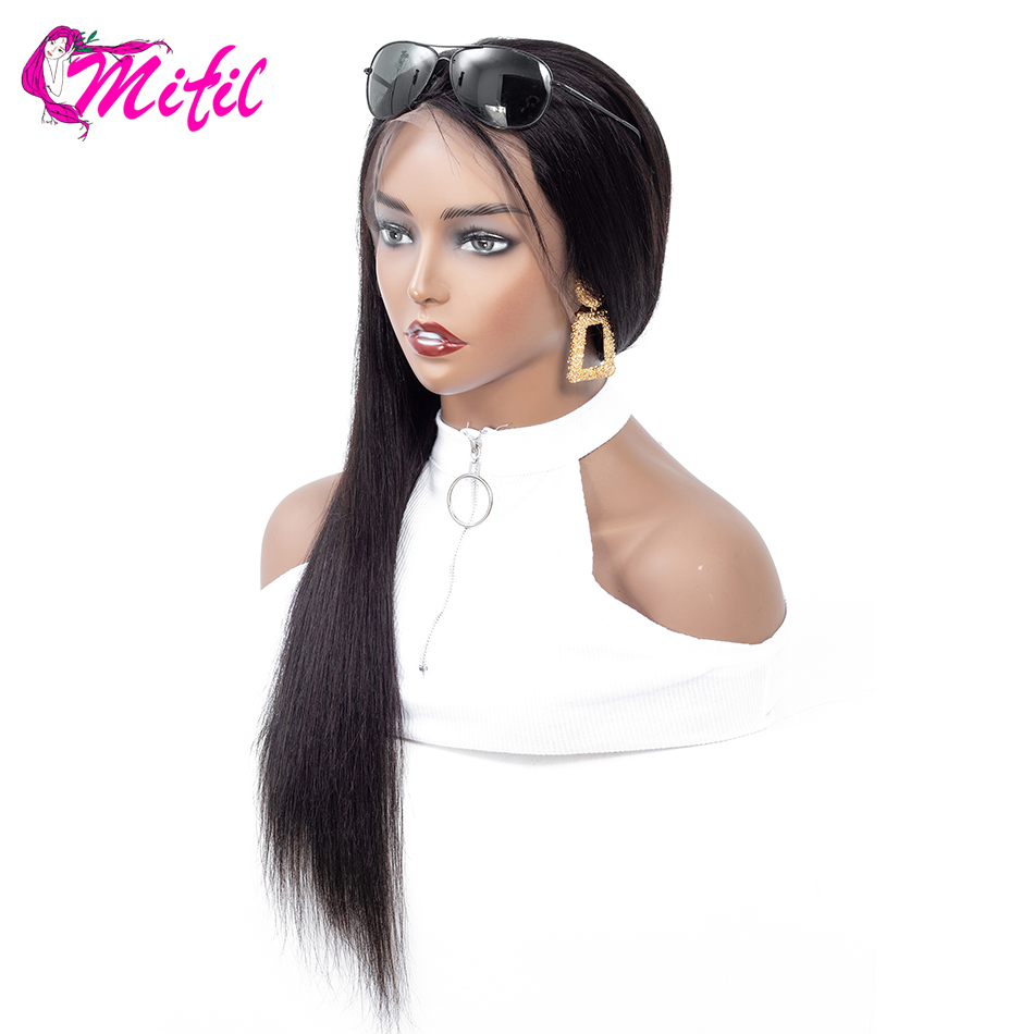 Mifil Lace Front Human Hair Wigs For Black Women Pre Plucked Malaysian Straight Lace Front Wigs