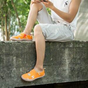 Image 2 - UIN Art zapatos informales pintados para hombre, zapatillas de lona, transpirables, de viaje
