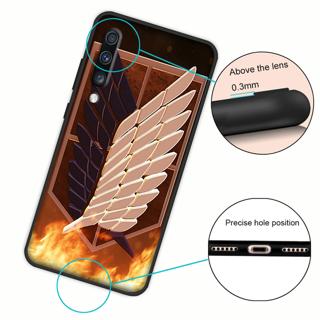 Attack on Titan Soft Cover Case for Samsung Galaxy A Series