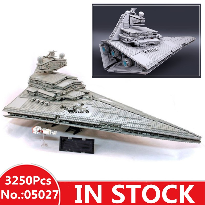 H HXY 05027 3250Pcs Star Emperor Fighters Ship wars Model Building Kit Block Bricks lepin Christmas