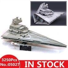 H & HXY 3250 05027 шт. Star Emperor Fighters корабль войны модель здания комплект блок кирпичи Лепин Рождество игрушечные лошадки Совместимость 10030 подарок
