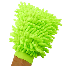 1pcs Super Microfiber Car Washing Home Cleaning Glove Mitt Cloth Duster Towel For Random Color