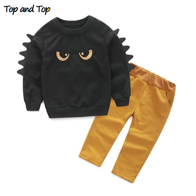 Gratis Verzenden Kinderkleding.Kinderkleding Sets Lange Mouw T Shirt Broek Herfst Lente Kinderen