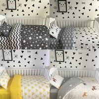 3 Pcs Set Baby Bedding Set Including Duvet Cover Pillowcase Bed Sheet 100 Cotton Baby Linen
