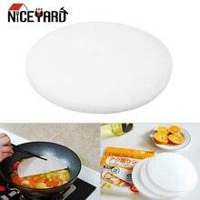 NICEYARD 20 см диаметр жир-поглощающая бумага для пищевого масла на бумаге 12 шт./компл. абсорбция масла мембранные колодки