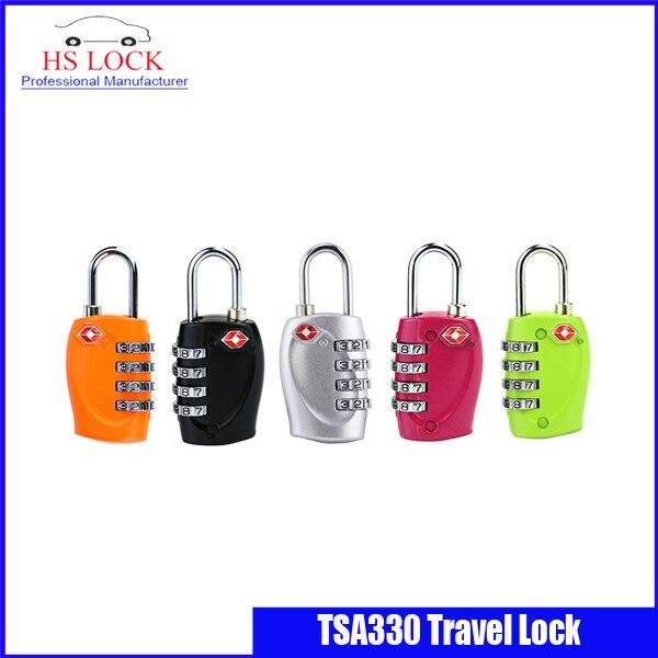 Blocco Doganale lucchetto tsa doganale | Zaino | Quattro password della chiave di blocco all'estero | Viaggio Trolley Lucchetto
