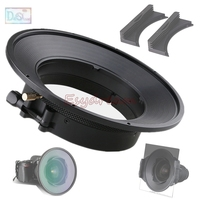 150mm Circular Filter Hood + 170*170mm Square Filter Slot Holder Kit System for Nikon AF S 14 24mm f/2.8G F2.8G ED Lens
