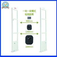 DSP Technology Dual 8 2Mhz Eas Security Alarm System Retail Store Anti Shoplifting System With Sound