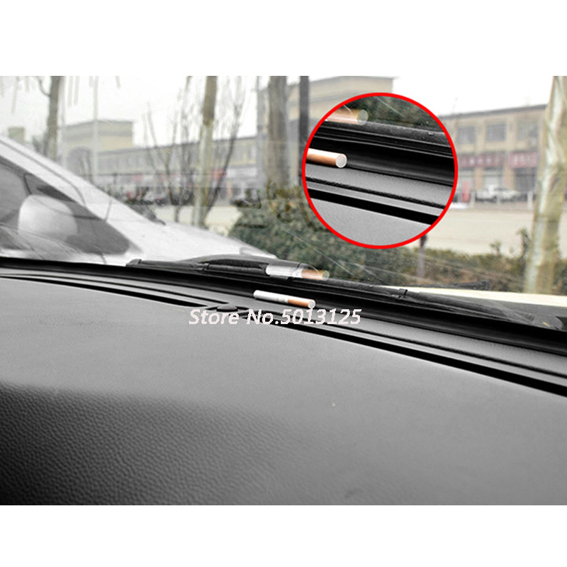 Car instrument panel controlled soundproof strip seal decorative dustproof decoration For <font><b>Honda</b></font> <font><b>CRV</b></font> CR-V 2017 <font><b>2018</b></font> 2019 image