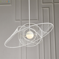 Simple and creative iron art Hang lamps pendant lights led lights for home nordic pendant light fixtures loft style hanging lamp