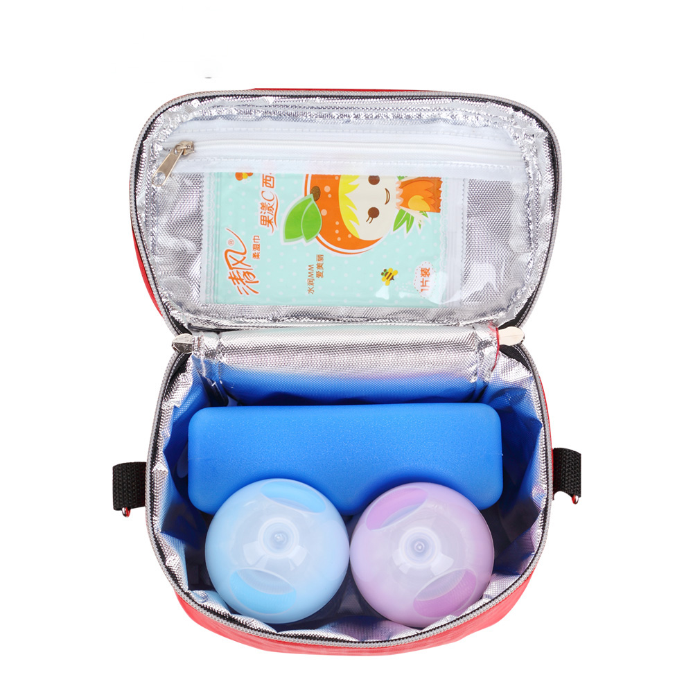 Fashion portable Baby Thermal Feeding Bottle Warmers Mummy Tote Bag Hang Stroller Pouch Winter Holder Hanging Cooler Bottle Bag in Insulation Bags from Mother Kids