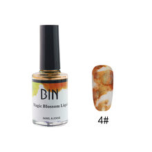 Blossom Nail Gel Watercolor Paint Liquid Enamel Smoke Marble DIY Magic Flower Ink Smudge Bubble Armor Lacquer #35(China)