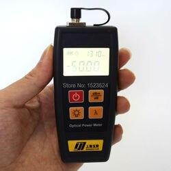 Catv radiodifusão televisão yj350c-50 ~ + 26dbm portátil mini fibra óptica medidor de energia