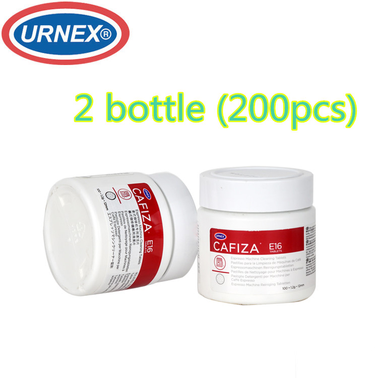 2*bottle Urnex Cafiza Espresso And Cappuccino Machine Cleaning Tablets Cleaning for a coffee machine For capsule coffee machine coffee purifying tablets tablets for a coffee machine automatic coffee machine cleaning coffee machine 9pcs pack