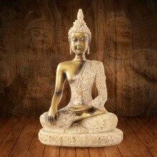 MRZOOT China Indian Buddha Avatar Yoga Avalokitesvara Home Decoration Sandstone Creative Crafts