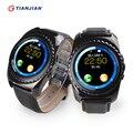 Bluetooth Smart Watch С Камерой Smartwatch Шагомер 2016 Здоровья Круглый Носимых Устройств Для Android IOS ПК GT08 DZ09 GV18