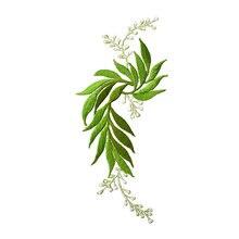 Нить серебряная нить вышивка листья Национальный Ветер в цветочную ткань паста Чонсам с цветами украшение мозаичный из кусочков клей