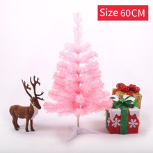 45-60cm Christmas Tree Two Colors Xmas for Home Decorations Kids Gift Artificial New Year Holiday Decoration