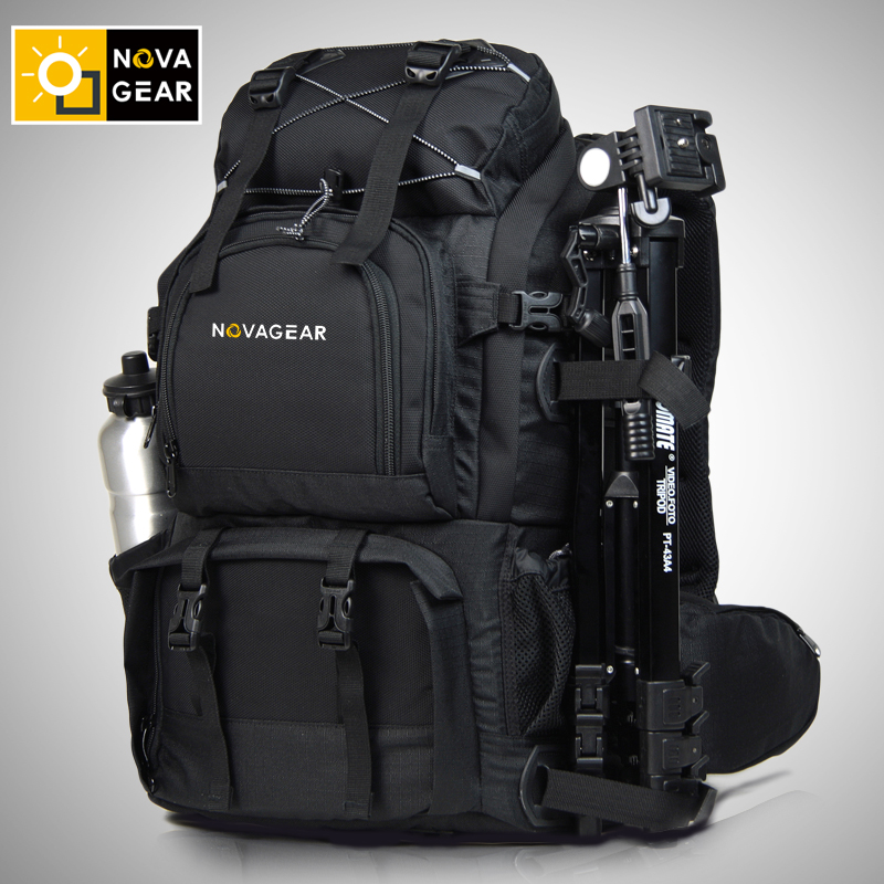 NOVAGEAR 80302 double shoulder camera bag genuine waterproof shockproof outdoor large capacity SLR camera bag