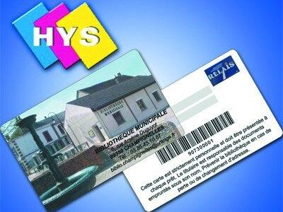 VIP Carte De Fidlit Dadhsion Et Pvc Visite Approvisionnement