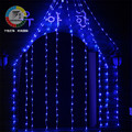 Coversage 2x3 M 240 Leds Cortina de Férias Ao Ar Livre Luzes De Natal Net Decorativo Cortina Luces Navidad natal Fada Cordas guirlandas