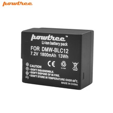 цена на 7.2V 1800mAh DMW-BLC12 Li-ion Camera Battery For Panasonic FZ1000 FZ200 FZ300 G5 G6 G7 GH2 DMC-GX8 DMCG7 G7 DMCG6 G6 DMC-G5 L10