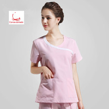 Operating room women short - sleeved hand washing clothes separate body set