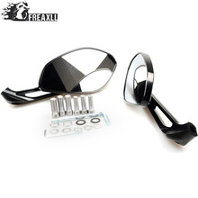 Motorcycle Rearview Mirrors Rear View Side Mirror Motorbike Accessories For Ducati Monster 600 Dark City I.E 695 696 750
