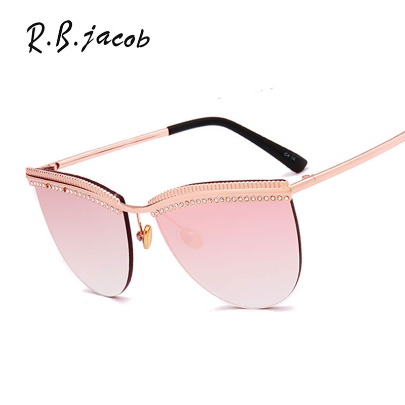 2017 Newest Beauty Fashion Goggle Women Sunglasses Top Quality Designed Lady Sun Glasses Summer Hot Sale UV400 Vintage Eyewear