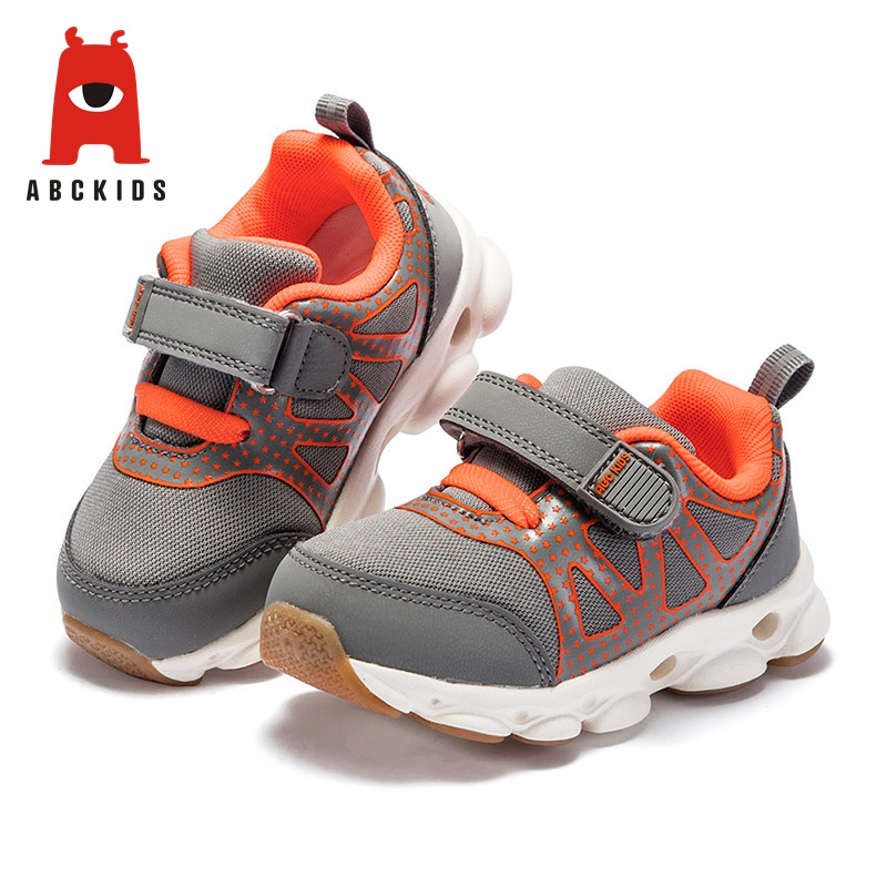 ABC KIDS Fashion Children Casual Shoes Mesh Breathable Boy Girl Soft Sole Sports Sneakers